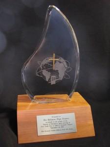 Pope's award1